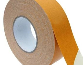 Craft Supplies - Banner Hemming Tape 25mm x 50m Roll - Bonds Flexible Banner Material, Easy and Quick to Use!