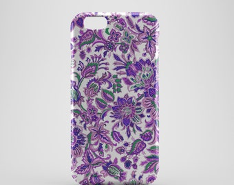 Abstract Floral Phone case,  iPhone X Case, iPhone 8 case,  iPhone 6s,  iPhone 7 Plus, IPhone SE, Galaxy S8 case, Phone cover, SS133c1