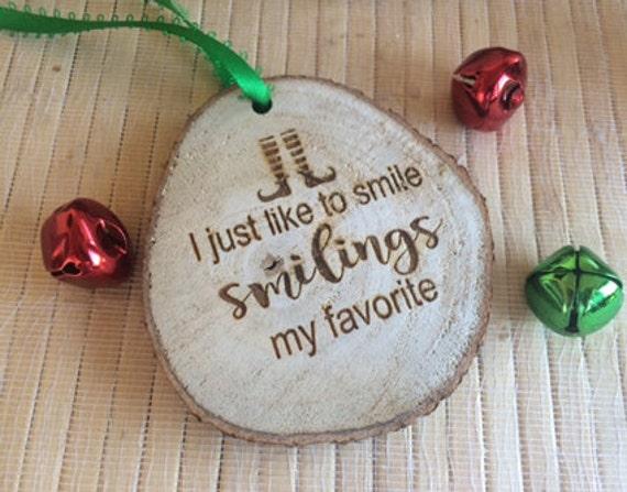 elf christmas decoration, elf decorations, elf movie, elf ornament, funny ornaments, smiling is my favorite, buddy the elf, elf legs