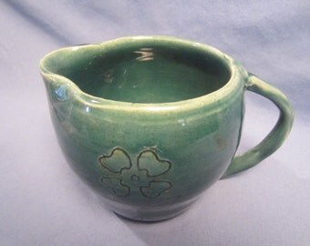 Ceramic Flower Pitcher