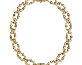 Endless Pavé Link Necklace
