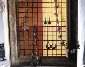 Jewelry display/notice board
