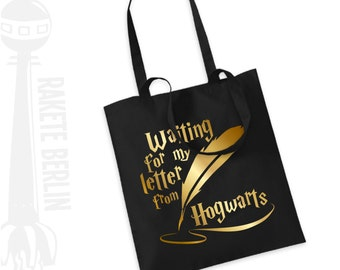 Tote Bag   'Waiting for my letter from hogwarts'