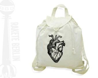 Festival bagpack 'anatomical heart'