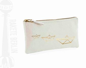 pencil case 'origami boat'