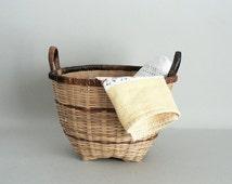 Multicolor Storage Basket With Handles