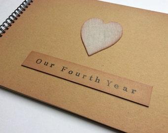 Third year anniversary gift / for husband / wife / girlfriend