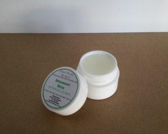 Natural Shea Butter & Coconut Oil Handmade lip balm - .25 oz - Choose a Flavor