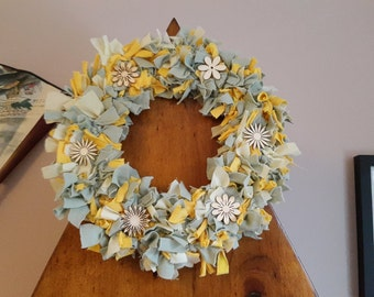 Shabby Chic Spring/Easter Wreath