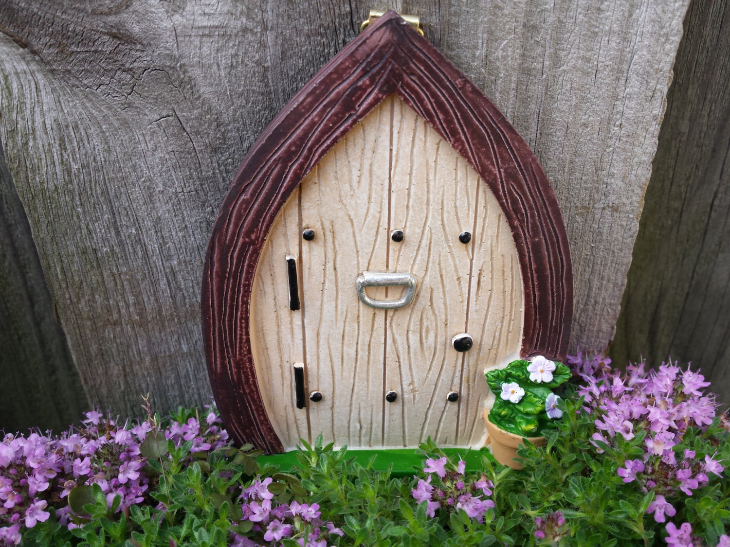 Fairy door fairy garden kit gnome door fairy garden for Fairy door kits canada