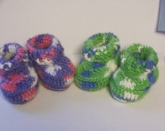 Special Order Variegated / Multi Color Booties