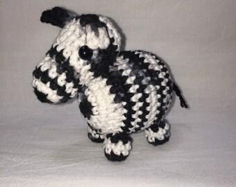 Amigurumi Zebra Plushie