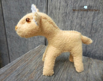 Stuffed sheep, felt lamb, small sheep, lamb soft toy, stuffed felt animal