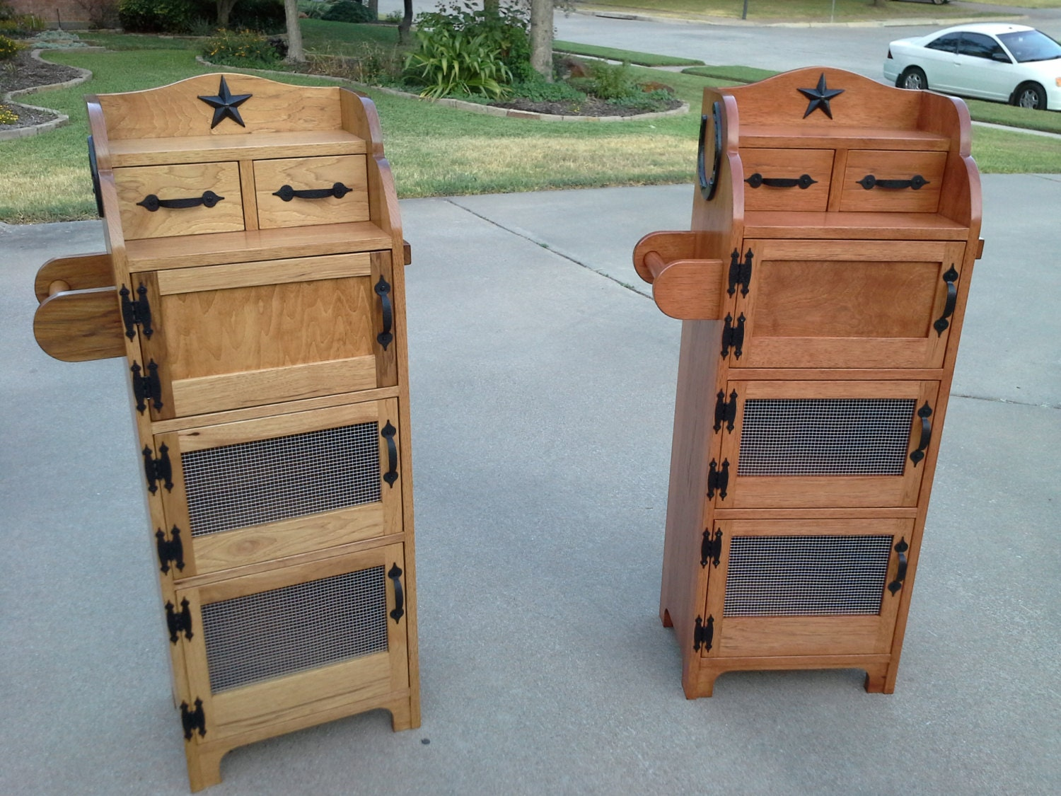 onion potato bins handmade onion potato bins by rbcustomfurniture. Black Bedroom Furniture Sets. Home Design Ideas