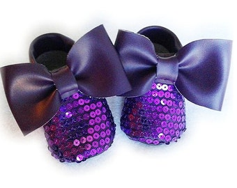 sparkly purple moccs