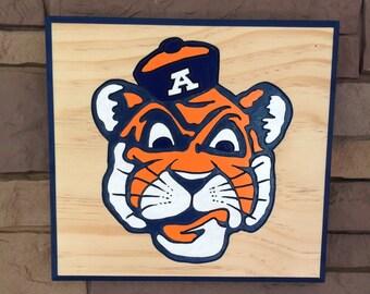 Auburn Tiger Sign