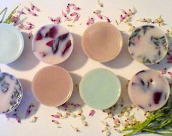Bath Melt, Luxury Bath Melts, Gift for Her, Set of 8 Bath Melts, Bath Truffel, Organic Shea Butter Bath Melt, Handmade Bath Melt