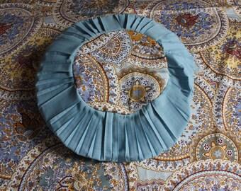 Yoga pillows meditation pillows Yoga - set - pillows & Plaid cloth of Yoga meditation Yoga pillow ethno ornaments ethnic Blau wellness