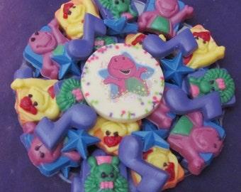 Happy Dinosaur  chocolates candy tray
