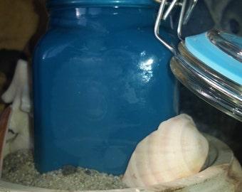 Agean Sea in a bottle!! Soy jar candle