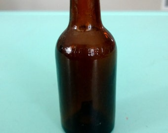 Vintage Heering Mini Liquor Bottle Free Shipping