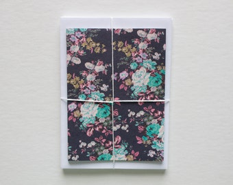 stationary cards, stationery set, blank note cards, note card set, modern stationery, floral stationary, floral note cards, bridesmaid gift