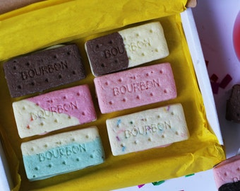 Belgian Chocolate Shaped Bourbons