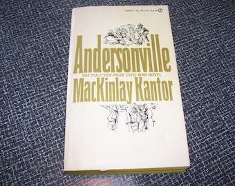 Andersonville by MacKinlay Kantor PB 1955 Vintage