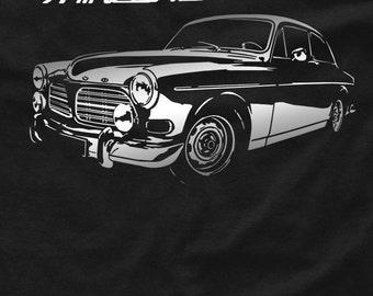 Amazon t-shirt classic sweden car vintage P120 P122S P121 S - 5XL