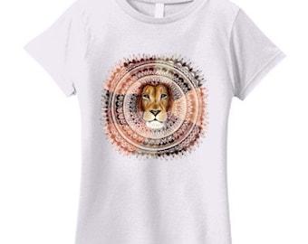 Lion mandala tshirt