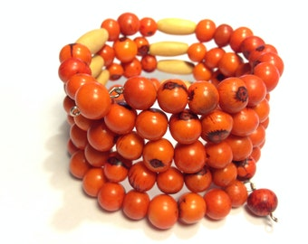 Acai Berry Seeds Bracelets