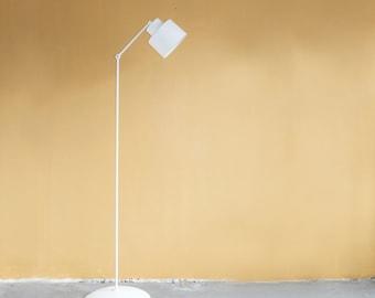 modern floor lamp white floor lamp minimal lamp aluminum lamp lamp for