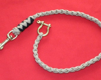 Brass and Paracord Wallet Chain