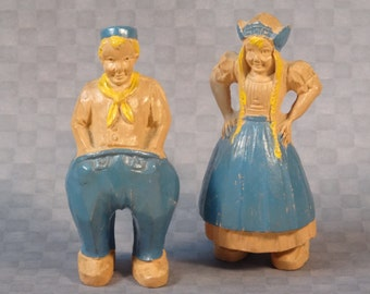 Darling Dutch Duo - Pair of Two Figurines