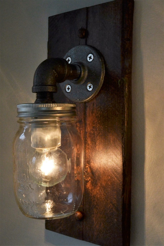 Industrial Wall Light Wall Sconce Steampunk Light Old
