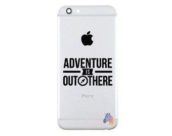 Up Adventure is Out There Apple iPhone Decal