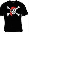t-shirts : skull head