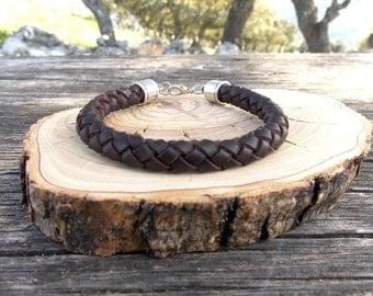 Braided bracelet, women bracelet , braid bracelet man, six corporals bracelet bracelet girl, boy bracelet , leather bracelet , leather braid