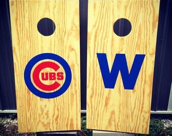 Chicago Cubs Bean Bags Set