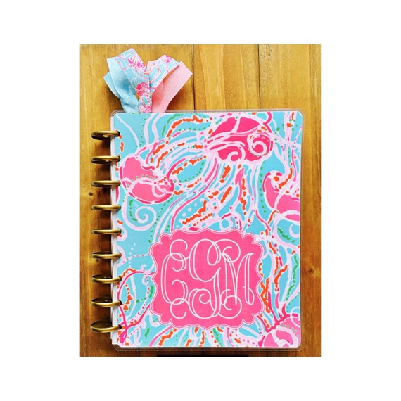 Personalized planner cover jellies be jammin 39 choose for Custom photo planner