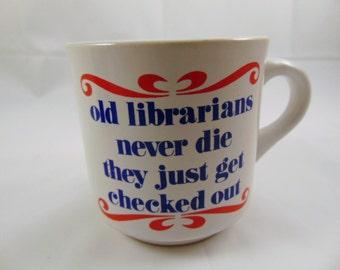 Vintage Librarians Coffee Mug