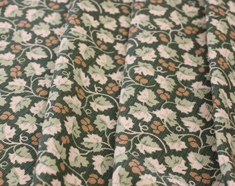 FABRIC , P Kaufmann, Vine print, Use for Upholstery, Drapery, Bedding, Slip Cover, Pillows, Wall Decoration,