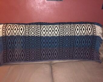 Diamonds crochet blanket/afghan  Native American blanket  Indian blanket