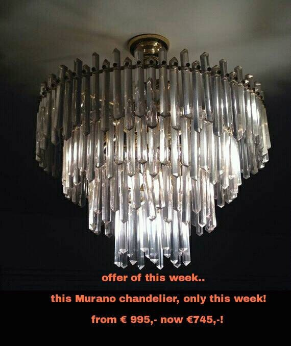 Very Unic And Huge Kalmar Austrian Chandelier