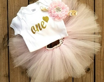 One Year Old Girl Birthday Outfit, Girl Birthday Outfit, Girl Birthday Set, Tutu Birthday Outfit, First Birthday Party, Girl Second Birthday