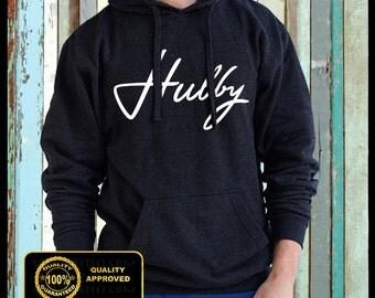 Hubby Hoodie Sweatshirt - Wifey - Tops and Tees -Hoodies and Sweatshirts - Hubby Tshirt - Hubby Sweater