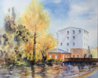 The Water Mill - River