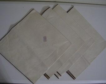 Belgian Linen Napkins Set of 4