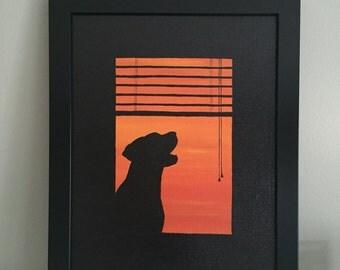 25%OFF Dog by Window