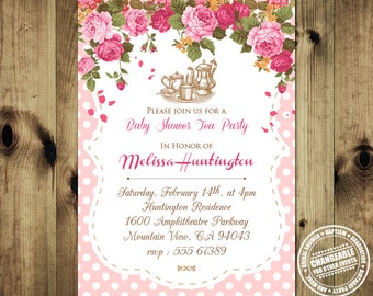 Unique Tea Party Baby Shower Invitation BabShow_inv_011